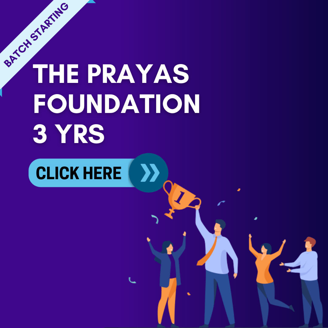 3 Yrs Prayas Foundation