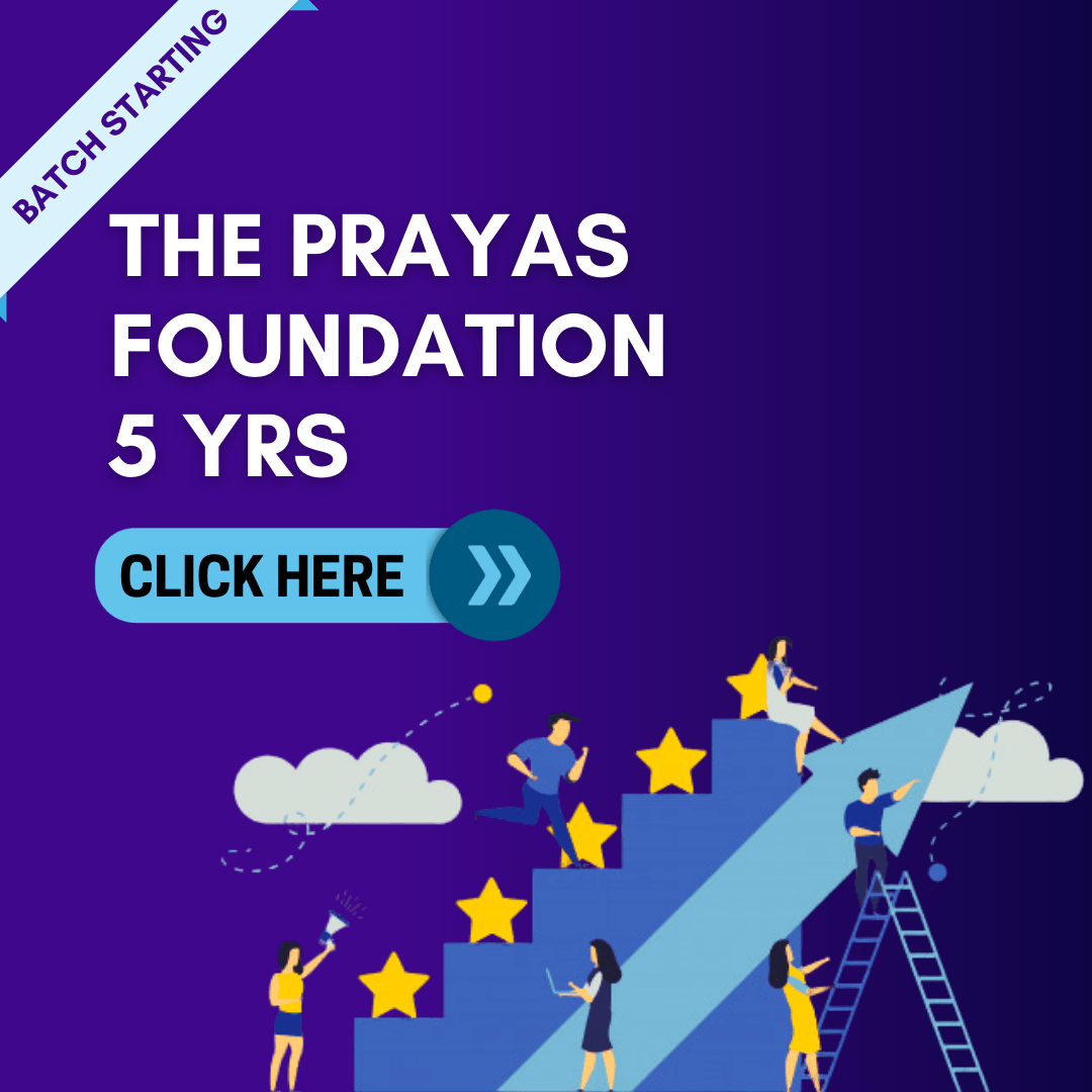 5 Yrs Prayas Fundation