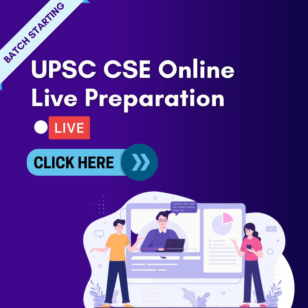 UPSC CSE Online Live Preparation