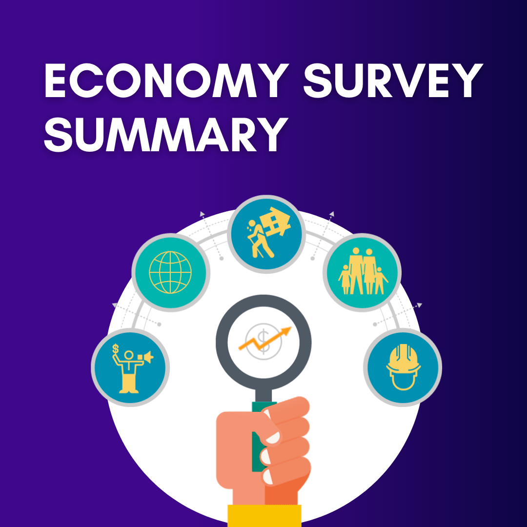 Economy Survey summary