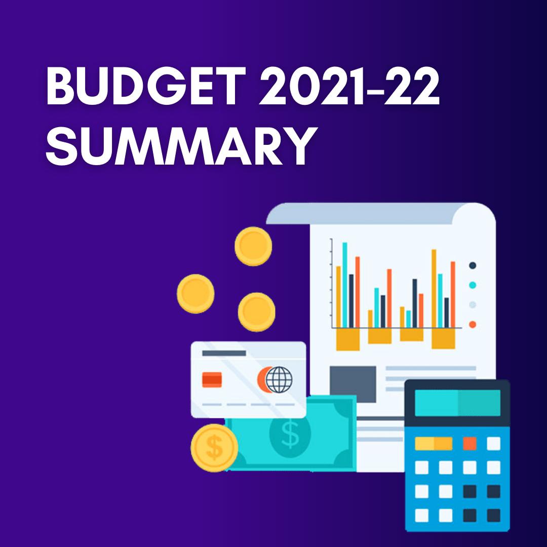 budget 2021-22 summary