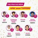 UPSC Results Prayas 2020-11